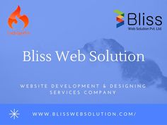 Bliss Web Solution is a CodeIgniter website development company in India. We offer proficient service at reasonable price.We are also providing best Website Services in Ahmedabad and Gujarat.http://www.blisswebsolution.com/codeIgniter.html