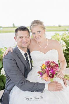 Bride and Groom Pose ©Megan Corkill Photography,Springfield, Illinois Photographer, wedding photography