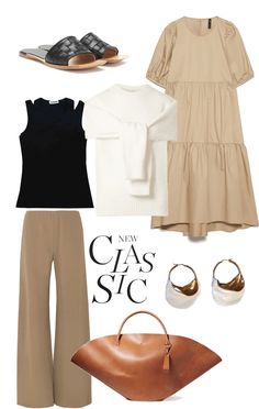 Classy Outfits, Casual Outfits, Fashion Outfits, Basic Outfits, Daily Fashion, Spring Fashion, Helmut Lang, Mode Pastel, Cos Dresses