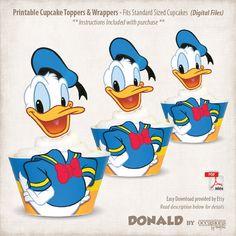 Descarga inmediata Donald Duck imprimible por OccasionsByMarjae