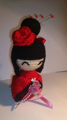Chinese New Year Kokeshi Doll by *passionfyre on deviantART