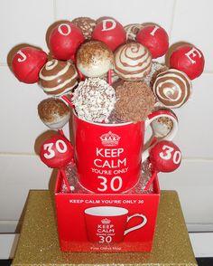 Keep calm birthday cake pops :) by featherstone2, via Flickr