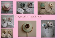 Candy Shop Party Cookie By Fada dos Bolos