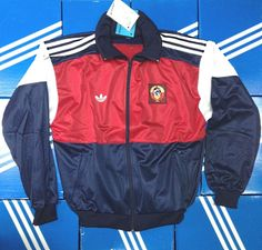 ADIDAS originals USSR VTG jacket RETRO,OLDSCHOOL,VINTAGE Size D6 GB 40/42 | Clothing, Shoes & Accessories, Men's Clothing, Athletic Apparel | eBay!