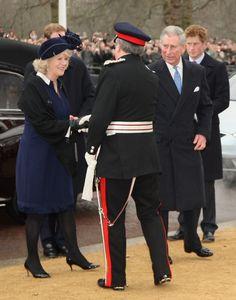 Prince Harry Photos: The Queen Unveils The New Statue Of Queen Elizabeth, The Queen Mother