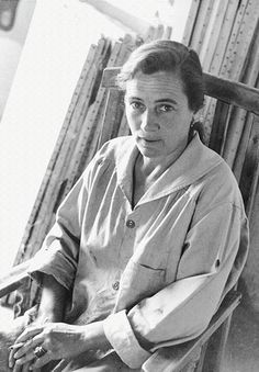 """""""I often paint tranquility. If you stop thinking and rest, then a little happiness comes into your mind. At perfect rest you are comfortable."""" Agnes Martin"""