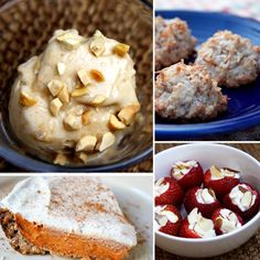 for when you want something sweet without the guilt, a great list of healthy dessert recipes