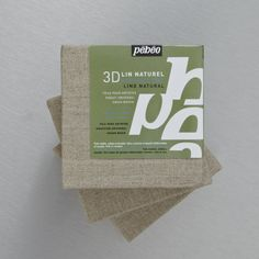 Pebeo 3D Natural Linen Canvases are covered with 100% natural linen with a fine-grain surface. Best prices guaranteed at Cass Art.