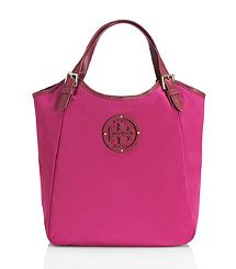 Tory Burch - Small Slouchy Stacked Logo Tote