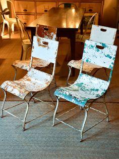 four antique french garden chairs gardenfurniture gardenchair