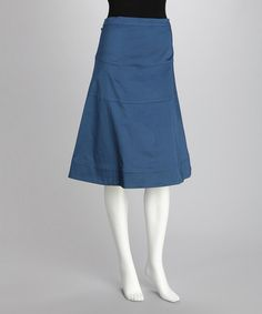 Modest. Take a look at this Navy A-Line Skirt by Neutral Hems: Women's Skirts on #zulily today!