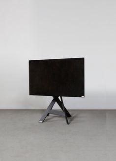 tv halter mikado art113 produktdesign wissmann raumobjekte - Motorisierte Tvhalterung Unter Dem Bett