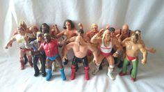 LOT OF 15 LJN WWF WWE Wrestling Superstars 1980's Hulk Hogan AWA Remco in Toys & Hobbies | eBay