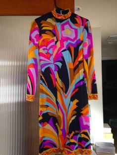 Vintage Leonard Paris dress