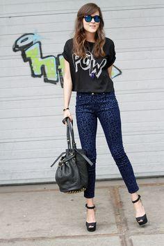BLUE PANTS - Stylescrapbook