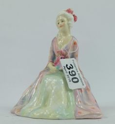 Top 25 Highest Selling Lots -Collectors & General Auction – Lot 390 – Royal Doulton figure Eugene HN1520.  Sale Price £260.00
