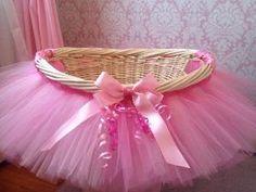 Tutu Basket Tutu Gift Basket Tutu Baby Shower by MissMadelynsBows, $55.00 by britt13