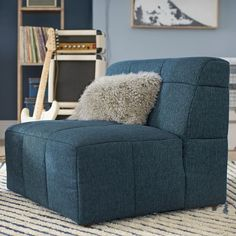 Configure your hangout space your way with our modular Baldwin Cushy Lounge Collection. Featuring a gently sloped back and square tufted cushions for a quilted look, it's a modern and cozy take on lounge seating. Sectional, Comfort Cushion, Comforters Cozy, Sofa Upholstery, Playroom Seating, Sectional Sofa, Ottoman Cushion, Tufted Cushion, Kids Playroom Seating
