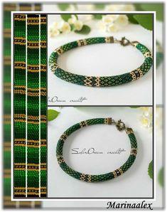 Bead Crochet Patterns, Beading Patterns, Bead Weaving, Jewelry Crafts, Jewlery, Beaded Bracelets, Beads, Handmade, Beadwork