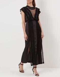 Black Desire Lace Trim Dress | Alice McCall | Avenue32