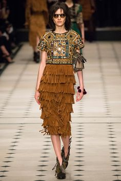 Burberry Prorsum - Pasarela Otoño invierno 2015/2016 (London Fashion Week)