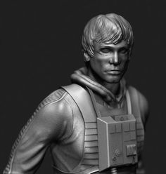 ArtStation - Luke Skywalker X-Wing Pilot (Episode V), Eric Pletz