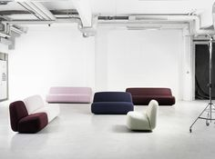 For Stockholm Furniture Fair 2016 Lammhults Introduces Aperi - a soft welcome to the modern of ce Design: Läufer & Keichel
