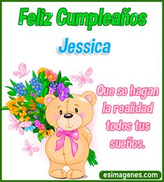 Feliz cumpleaños Jessica Happy Birthday Niece Wishes, Birthday Greetings For Aunt, Happy Birthday Flower, Happy Birthday Pictures, Birthday Photos, Happt Birthday, Happy Sunday Quotes, Memes, Princess Peach