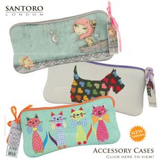 Santoro Eclectic Accessory Cases: News from Santoro