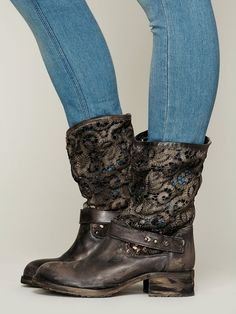 Free People Crochet Beau Boot  http://www.freepeople.com/free-people-collection/crochet-beau-boot/