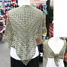 Iris Crocheted Shawl (Free)