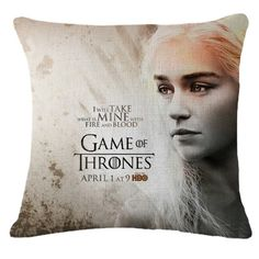 Game of Thrones Decorative Pillows  Price: 13.52$ & FREE Shipping  #gameofthrones #got