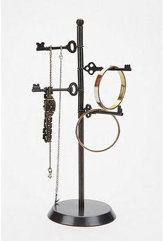 love keys, love jewelry a spinning keys jewelry stand  - perfect