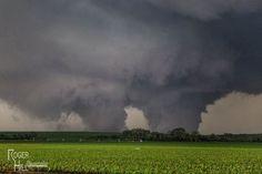 Nebraska's twin tornados - unbelievable!!!