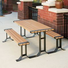 Wainwright 6' Table | Picnic Tables | Upbeat.com