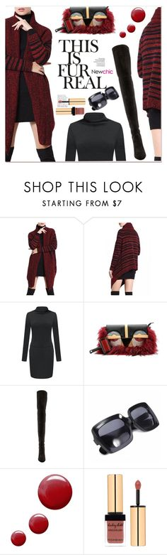 """""""cardigan"""" by paculi ❤ liked on Polyvore featuring Stuart Weitzman, Topshop, women's clothing, women, female, woman, misses, juniors and newchic"""