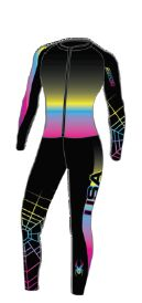 Spyder Girl's Performance GS Race Suit 2014 - 018 Black/Zen/Lindsey Vonn