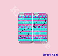 Infinity Best Friends iPhone 5 case Best Friend by KrezyCase, $26.99
