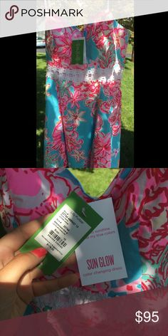 NEW WITH TAGS LILLY PULITZER DRESS!!! Dress size 10. I never wore it so it is new with the tags. Lilly Pulitzer Dresses