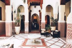 www.thisisglamorous.com | Places : The Royal Mansour, Marrakech | Flickr - Photo Sharing!