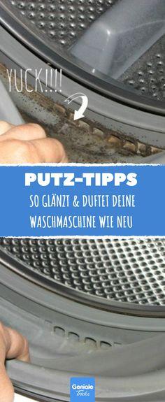 Mit diesen 2 Wundermitteln glänzt & duftet deine Waschmaschine wie neu.