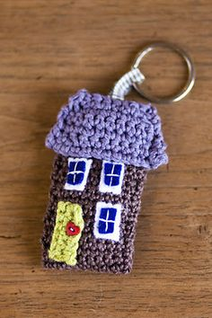 #crochet key chain