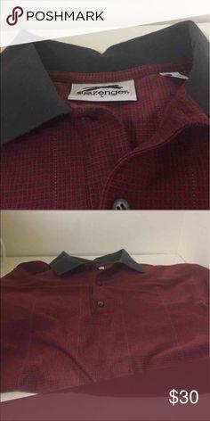 Vintage Slazenger Golf Polo Vintage Slazenger Golf Polo men's large slazenger Shirts Polos