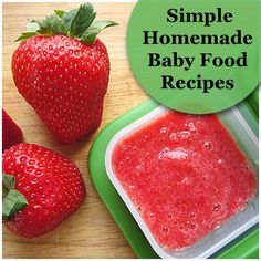 Homemade Fruit Puree Recipes. - Lots of good recipes and information on nutrients found in fruits, but it recommends mixing fruits - keep in mind NOT to mix foods until AFTER you've tried each one on it's own for a week to make sure your baby doesn't have a reaction.