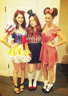 Lauren Conrad :: Minnie Mouse // Celebrity Halloween Costumes