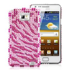Zebra Rhinestone Diamond Case Cover For Samsung Galaxy - MagentaDecorate your Samsung Galaxy with this Zebra Rhinestone Diamond Case. Give your phone a splash of color and make it special.Brand new Zebra Rhineston Galaxy S2, Samsung Galaxy, Color Splash, Tech, Phone Cases, Diamond, Cover, Accessories, Paint Splats