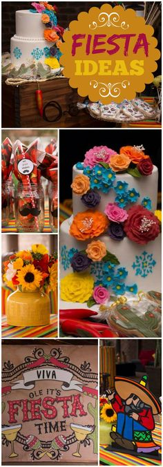 So many great details at a Mexican fiesta cocktail party! See more party ideas at CatchMyParty.com!