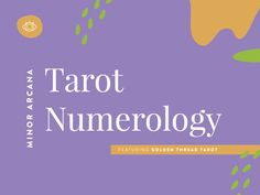 Though numbers in the tarot are not the main focus of the readings, they can be extremely helpful in giving a second dimension to the reading itself. When you take a look at numbers in your reading, see if you can find any patterns.