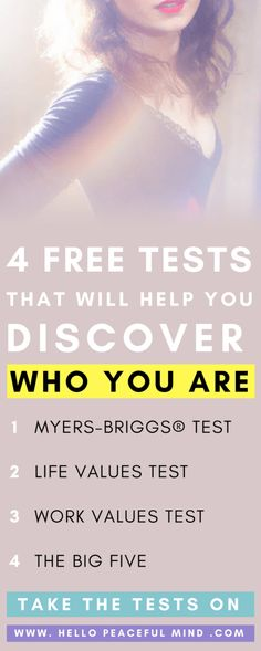 Find your purpose in life with these 4 tests!