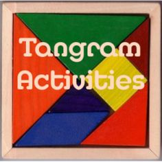 Seven tans make up the puzzle we call tangrams. These tangrams can be used for fun homeschool lessons!